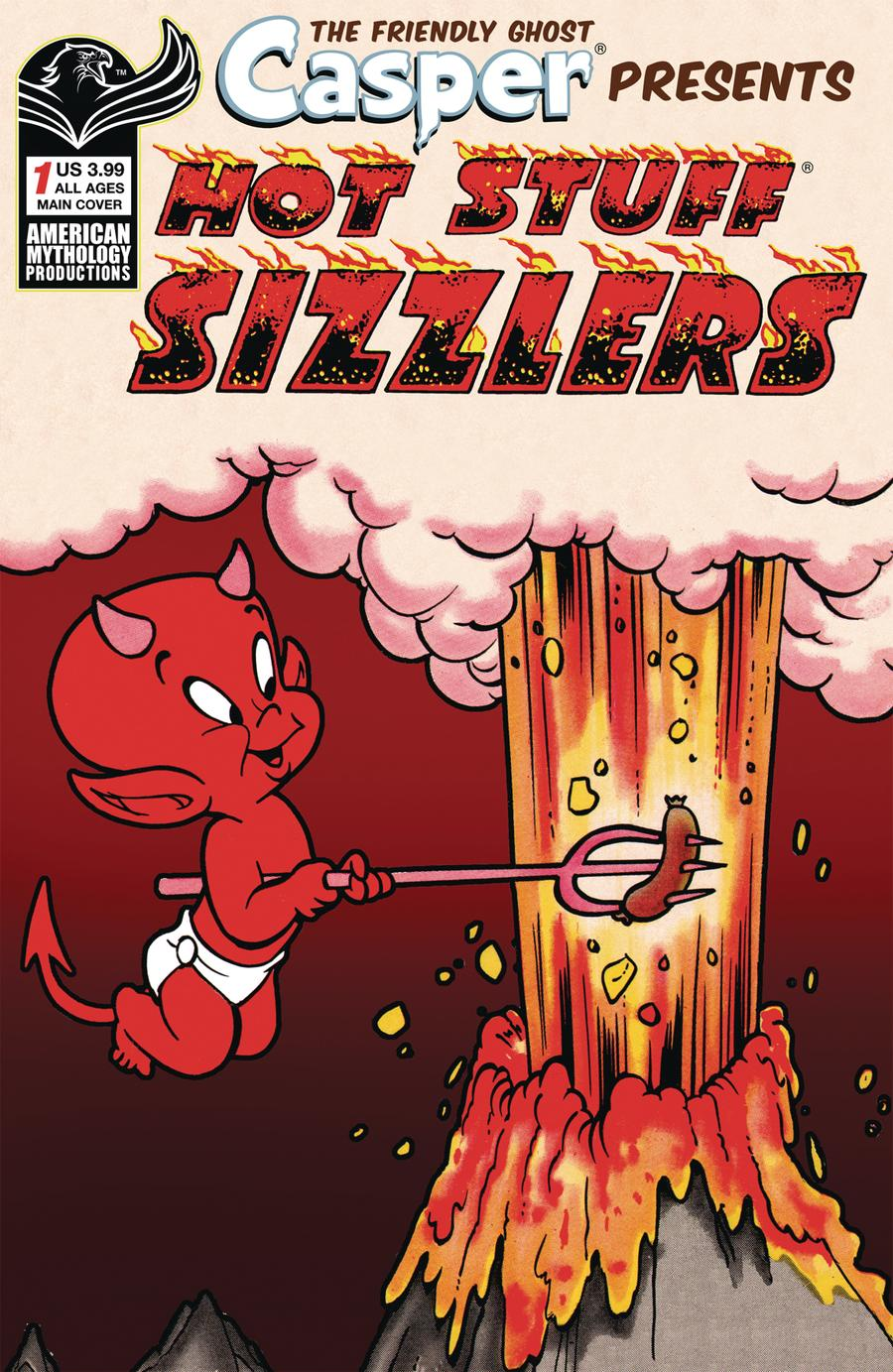 Casper Presents Hot Stuff Sizzlers #1 Cover A Regular Cover