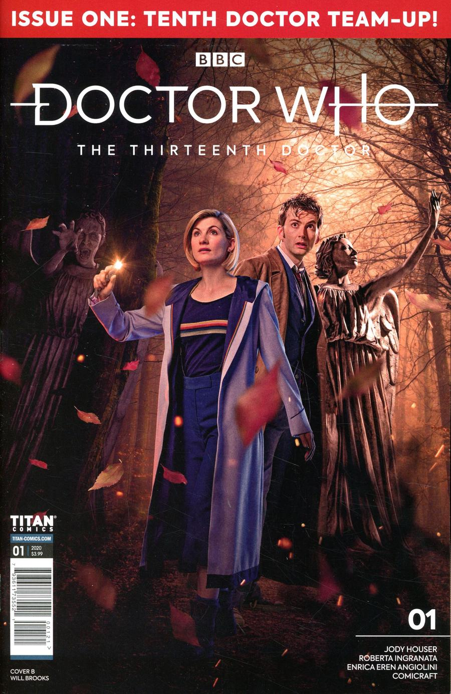Doctor Who 13th Doctor Season 2 #1 Cover B Variant Photo Cover