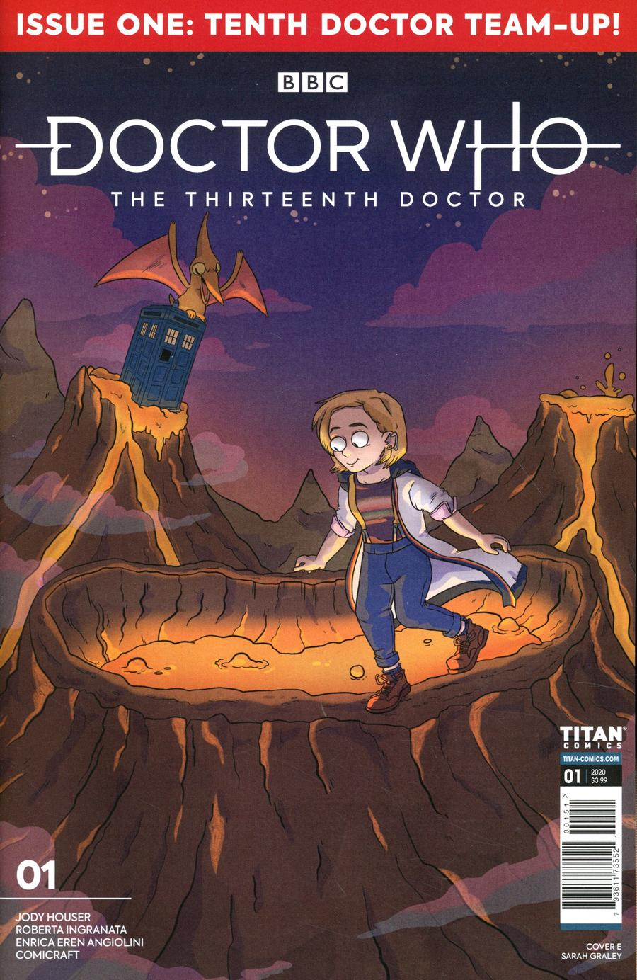 Doctor Who 13th Doctor Season 2 #1 Cover E Variant Sarah Graley Cover