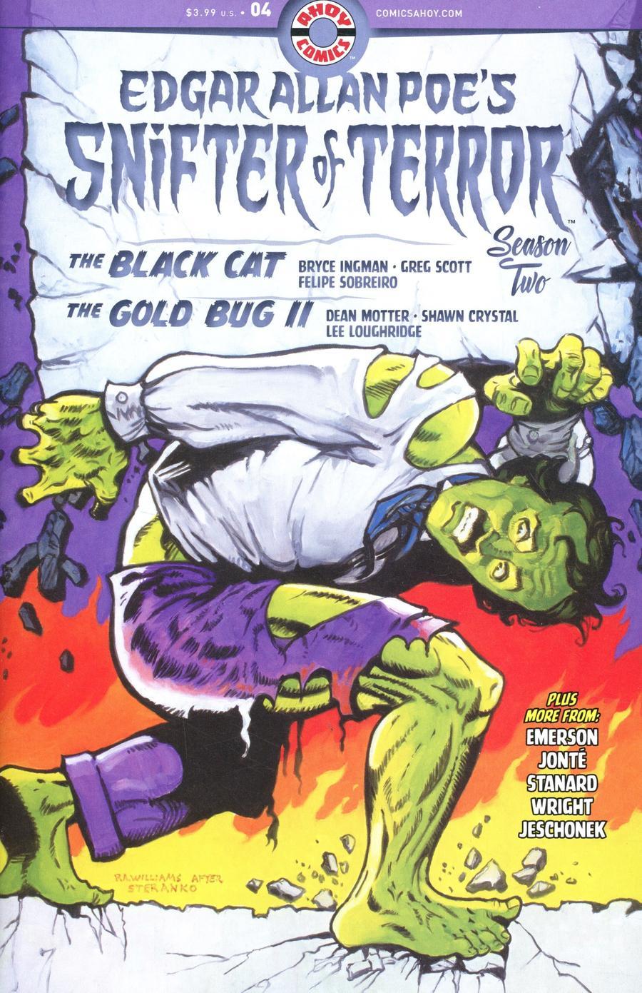 Edgar Allan Poes Snifter Of Terror Season 2 #4