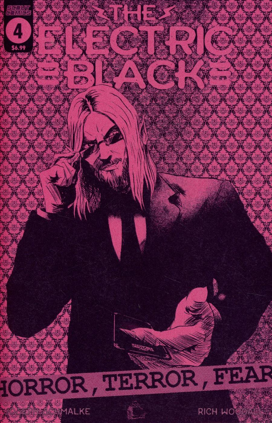 Electric Black #4 Cover B Variant Neon Cover