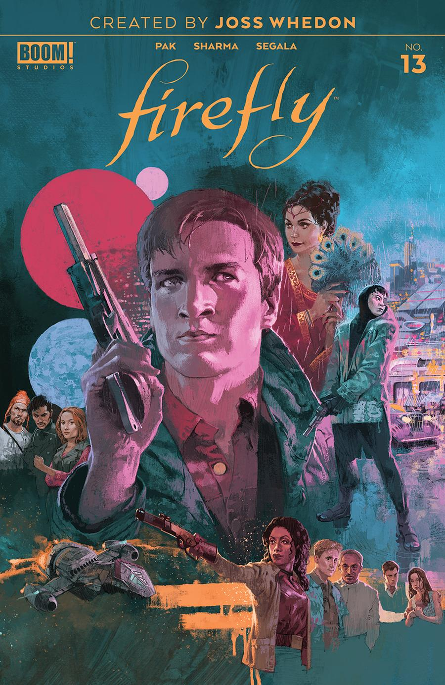 Firefly #13 Cover A Regular Marc Aspinall Cover
