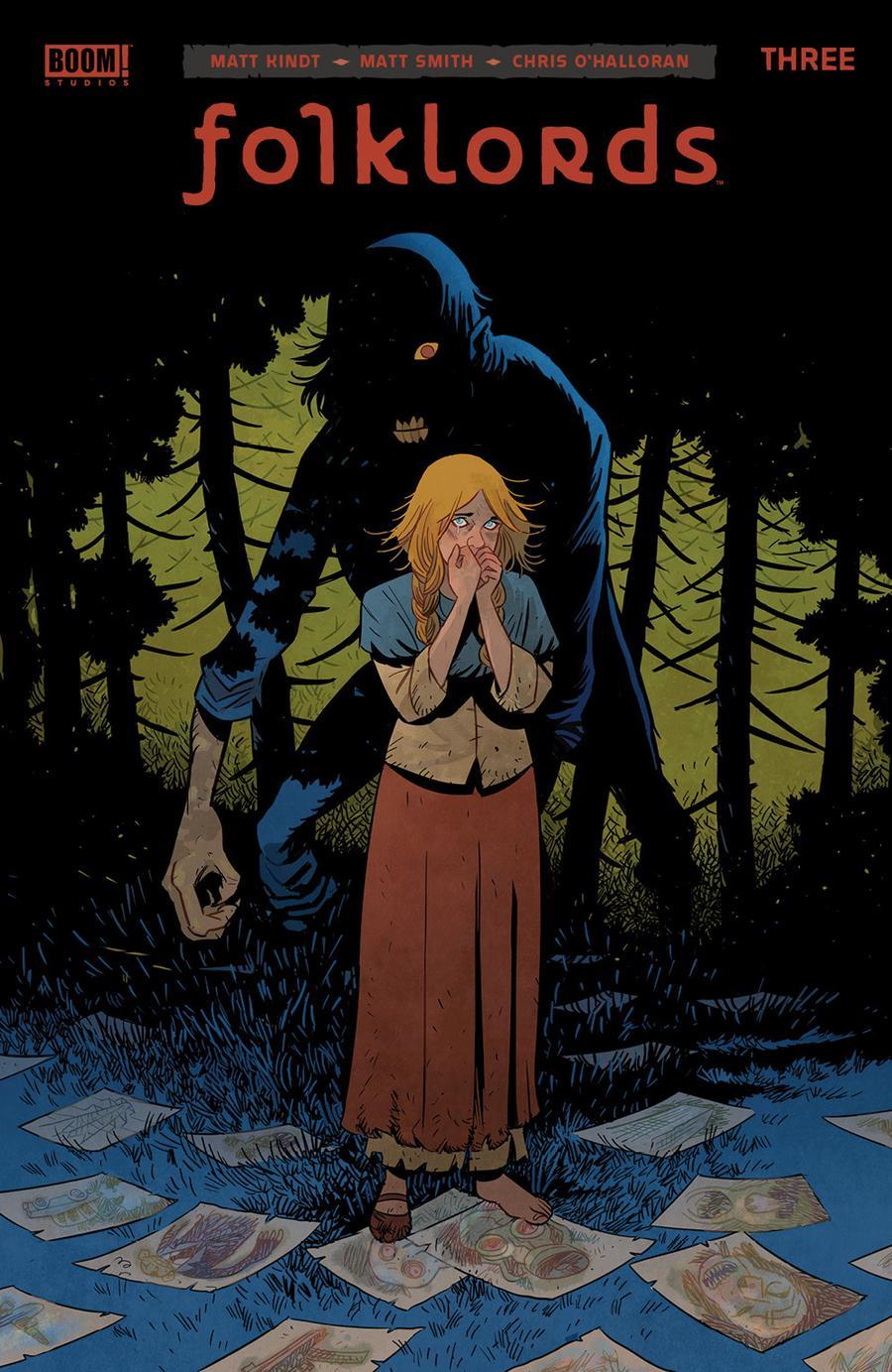 Folklords #3 Cover A 1st Ptg Regular Matt Smith Cover