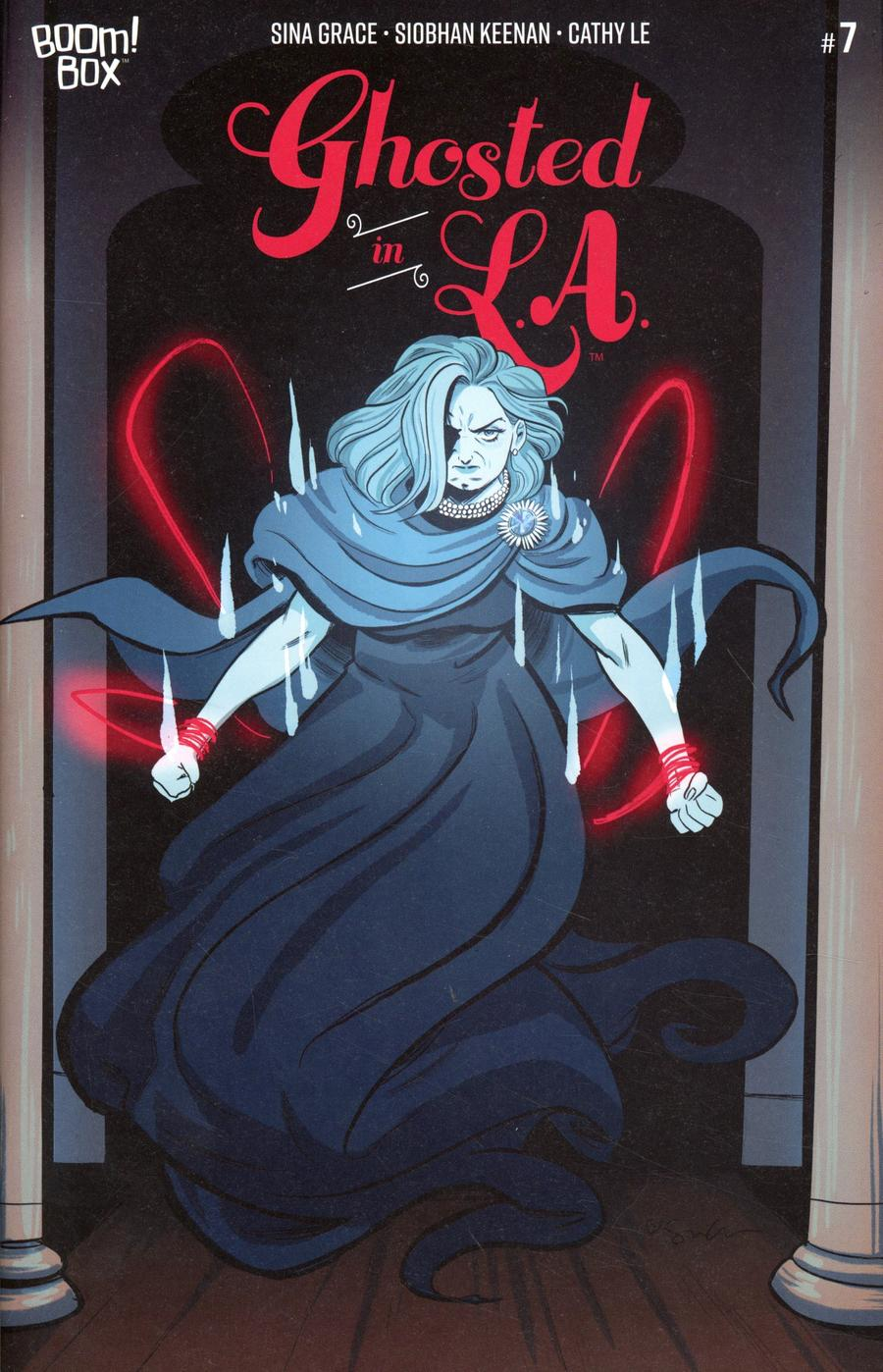 Ghosted In LA #7 Cover B Variant Sina Grace Cover