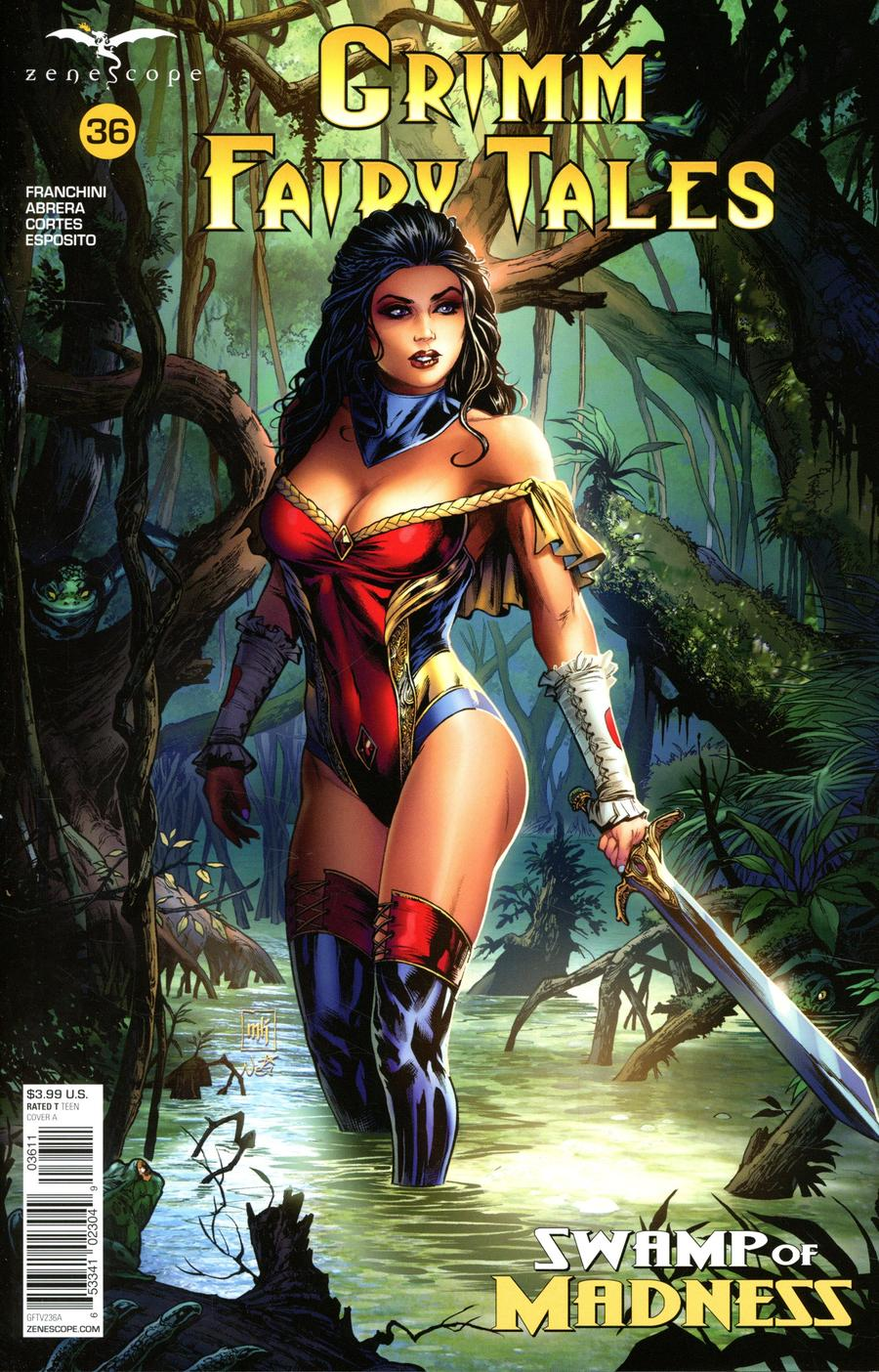 Grimm Fairy Tales Vol 2 #36 Cover A Mike Krome