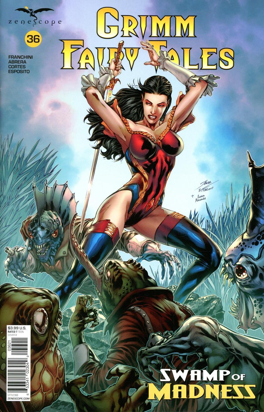 Grimm Fairy Tales Vol 2 #36 Cover B Igor Vitorino