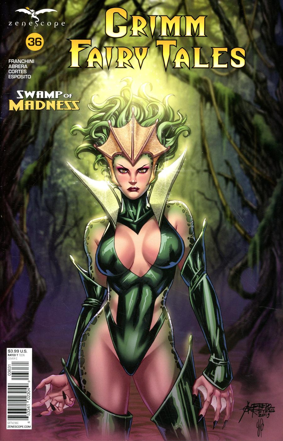 Grimm Fairy Tales Vol 2 #36 Cover C Alfredo Reyes