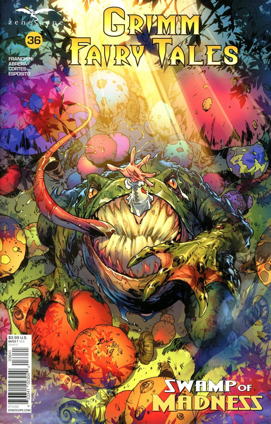 Grimm Fairy Tales Vol 2 #36 Cover D Ian Richardson