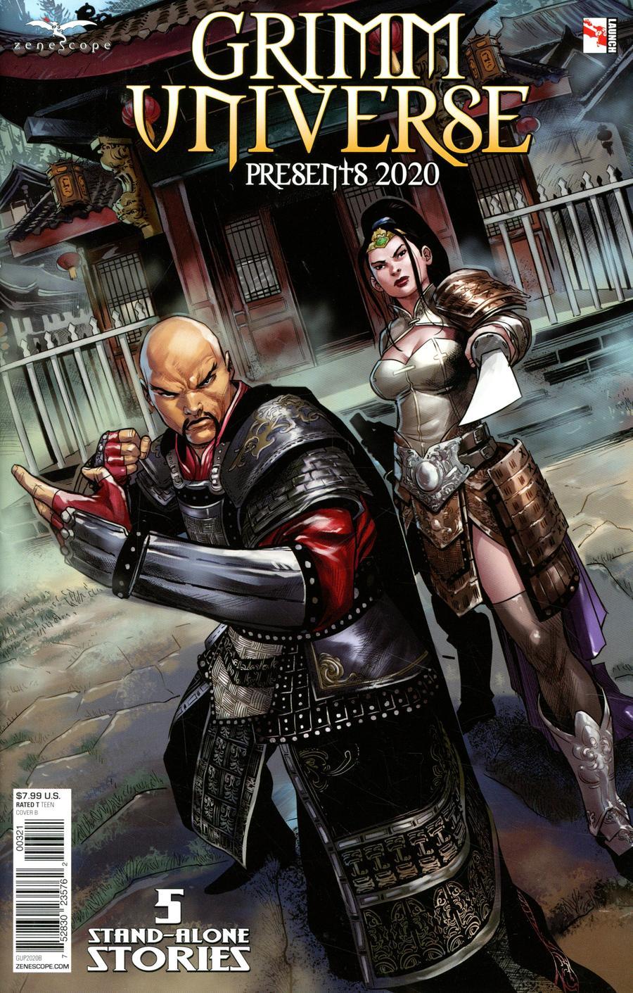 Grimm Universe Presents 2020 Cover B Martin Coccolo