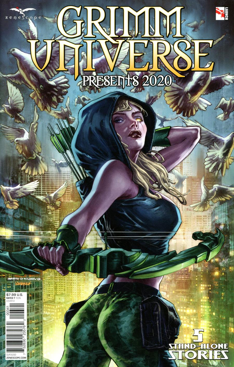 Grimm Universe Presents 2020 Cover D Al Barrionuevo