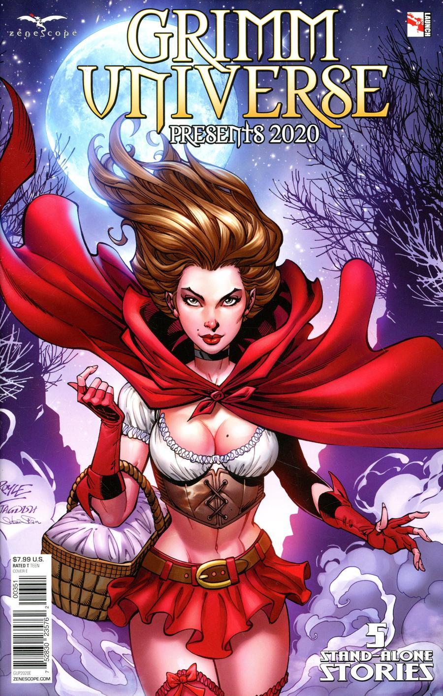 Grimm Universe Presents 2020 Cover E John Royle