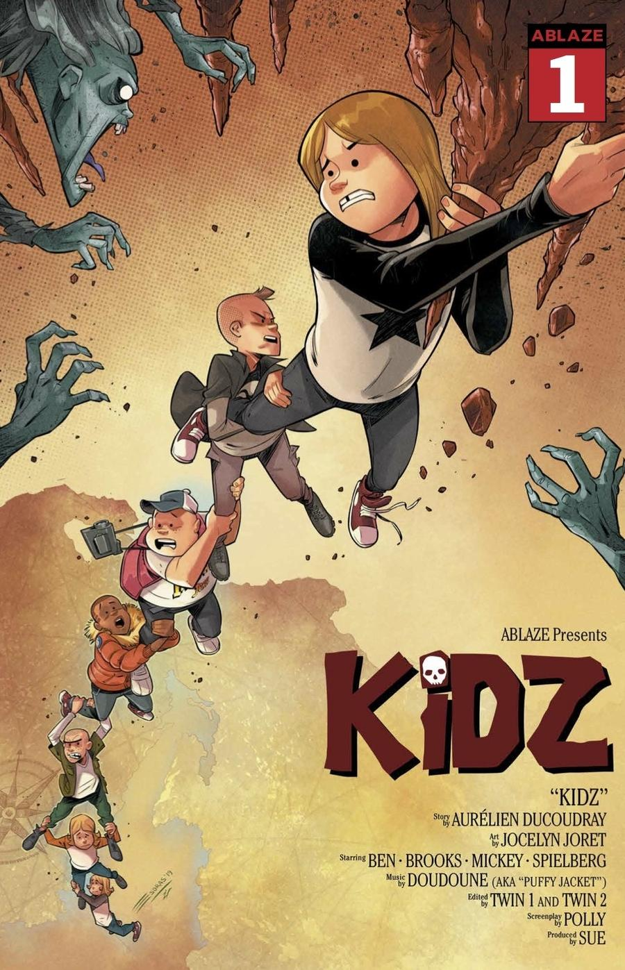 Kidz #1 Cover A Regular Esdras Cristobal Cover