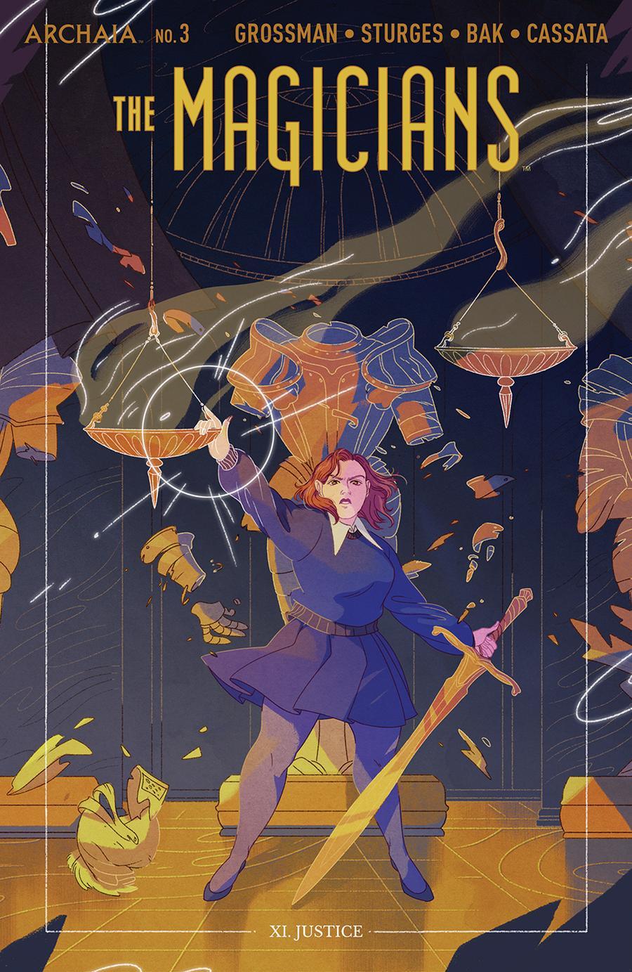 Magicians #3 Cover B Variant Alexa Sharpe Cover