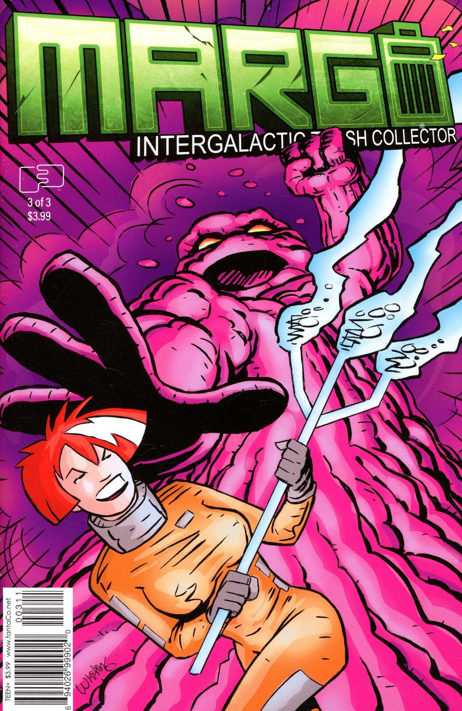 Margo Intergalactic Trash Collector #3 Cover A Regular Jim Whiting Cover