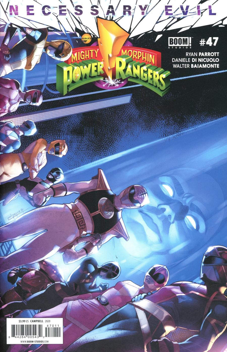 Mighty Morphin Power Rangers (BOOM Studios) #47 Cover A Regular Jamal Campbell Cover