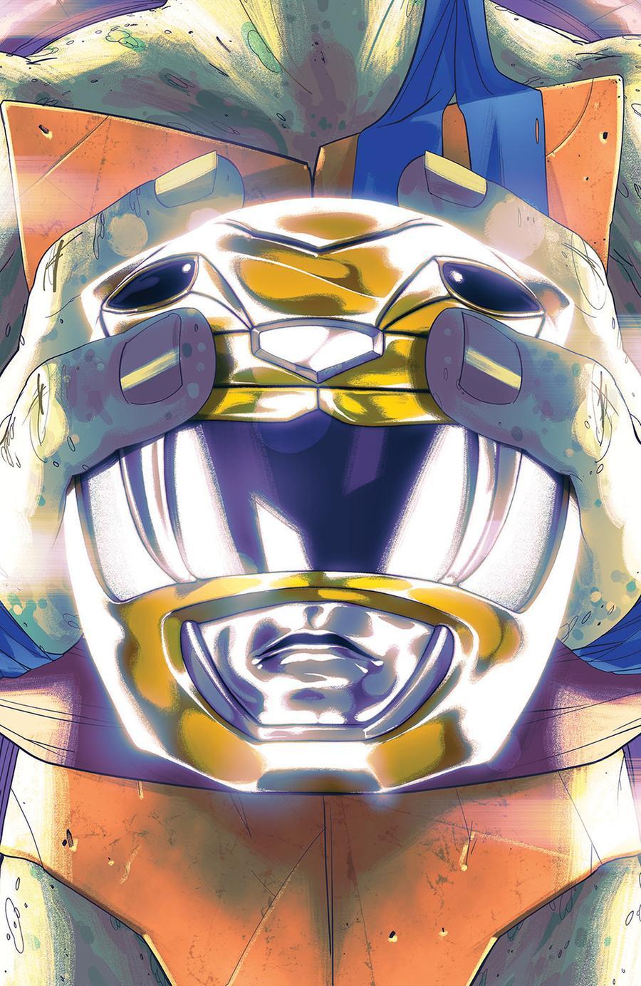 Mighty Morphin Power Rangers Teenage Mutant Ninja Turtles #2 Cover B Variant Goni Montes Cover