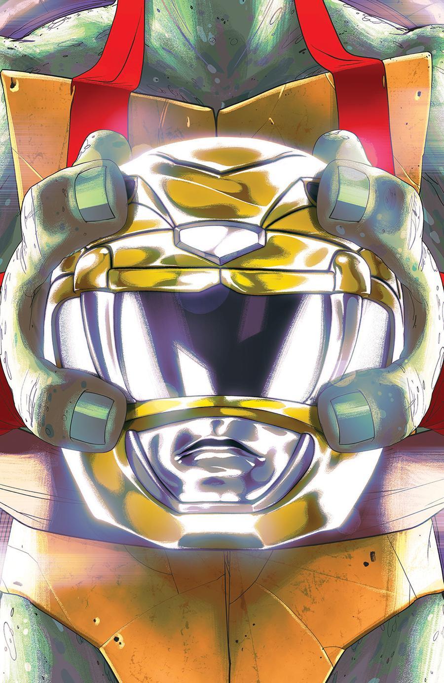 Mighty Morphin Power Rangers Teenage Mutant Ninja Turtles #2 Cover C Variant Goni Montes Cover