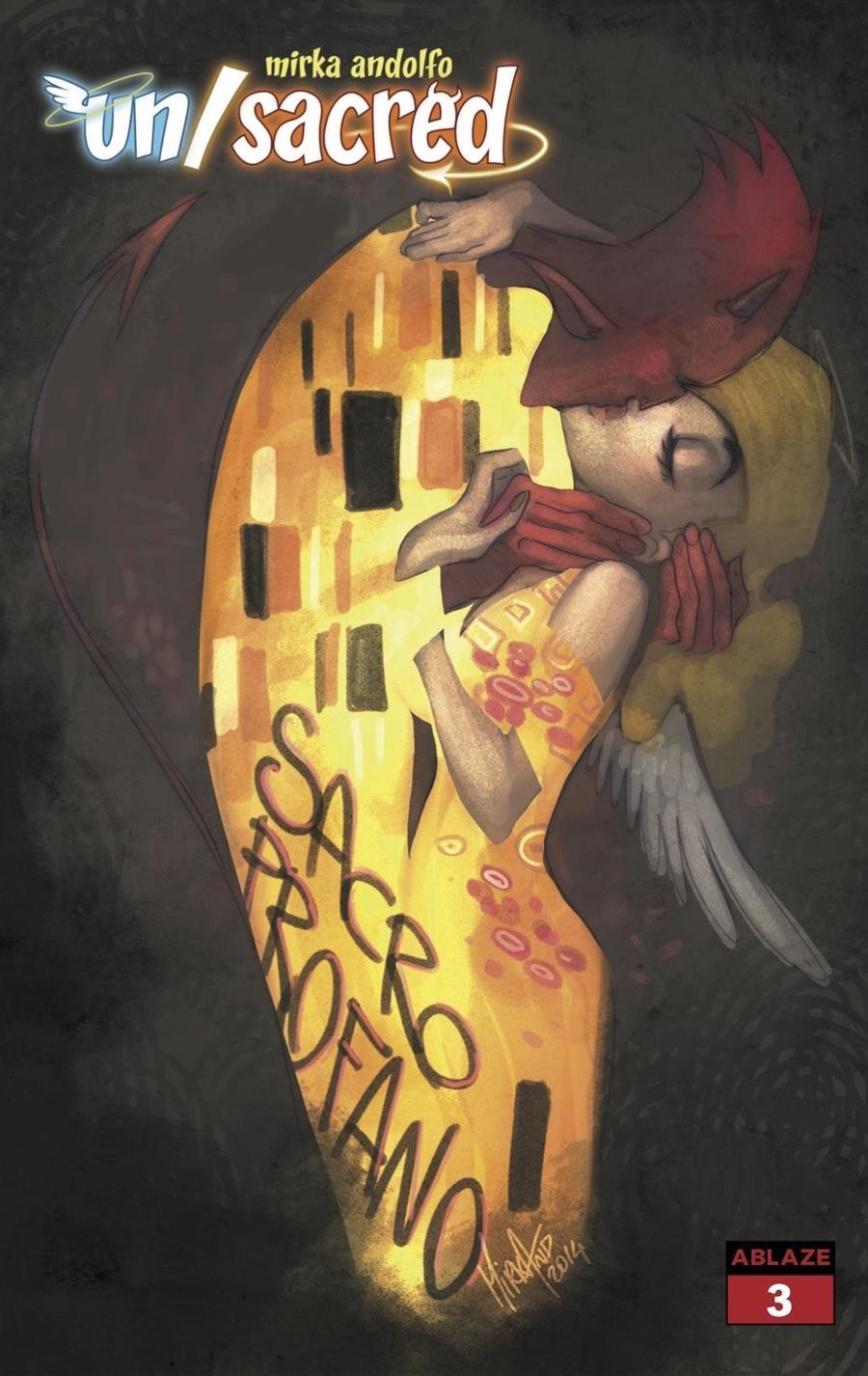 Mirka Andolfos Unsacred #3 Cover D Variant Mirka Andolfo Klimt Homage Cover