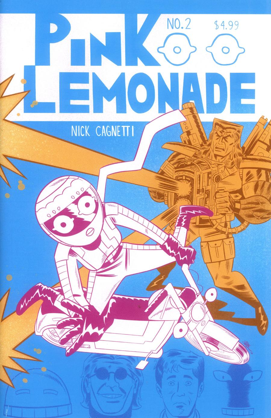 Pink Lemonade #2 Cover A Regular Nick Cagnetti Cover