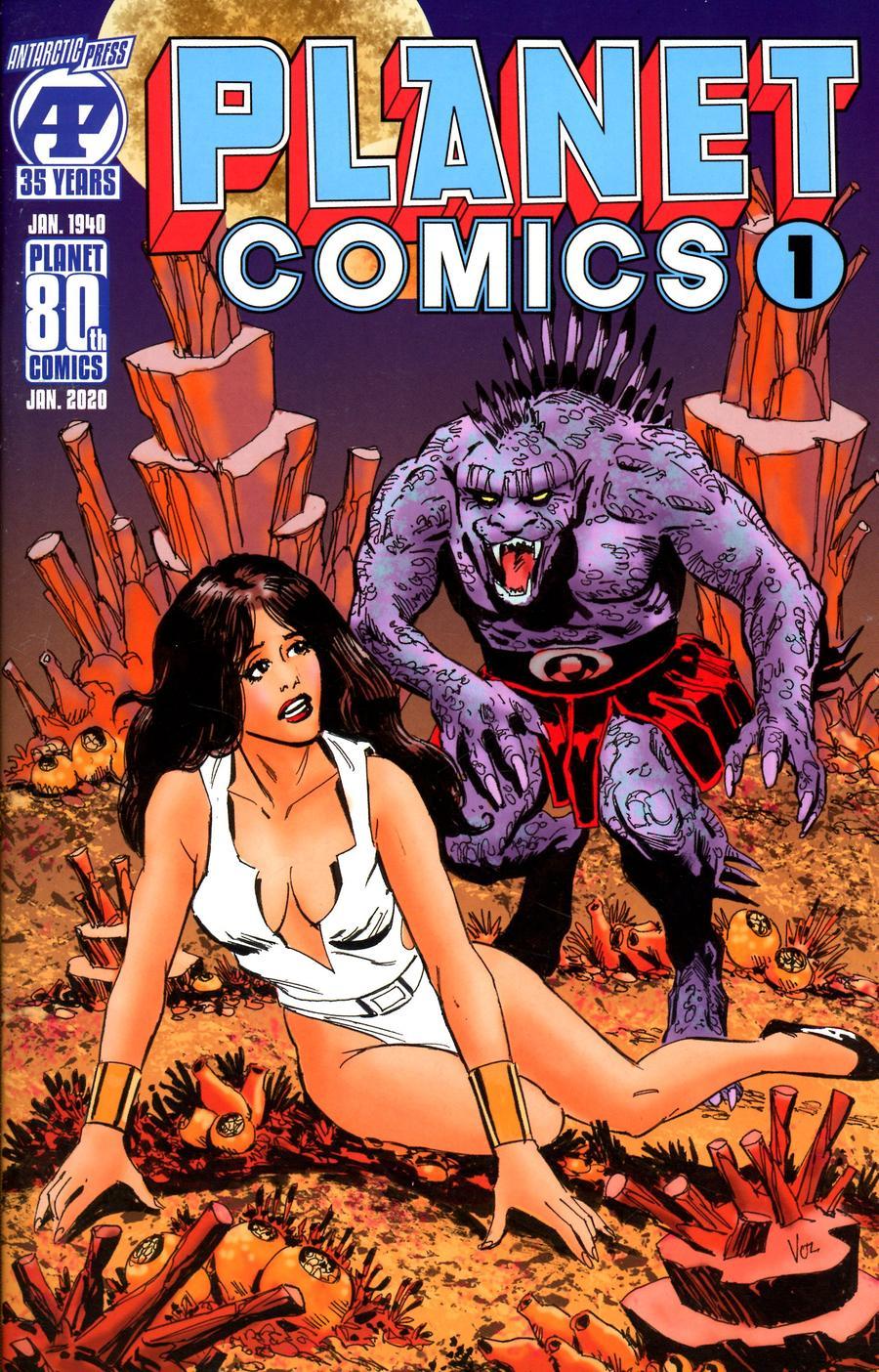Planet Comics Vol 2 #1 Cover A Regular Mike Vosburg Cover