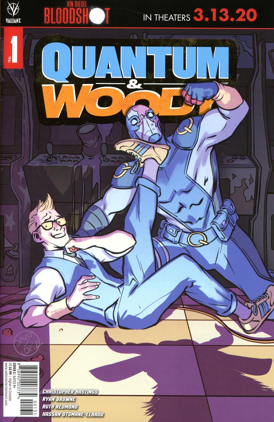 Quantum & Woody Vol 5 #1 Cover C Variant David Lopez Cover