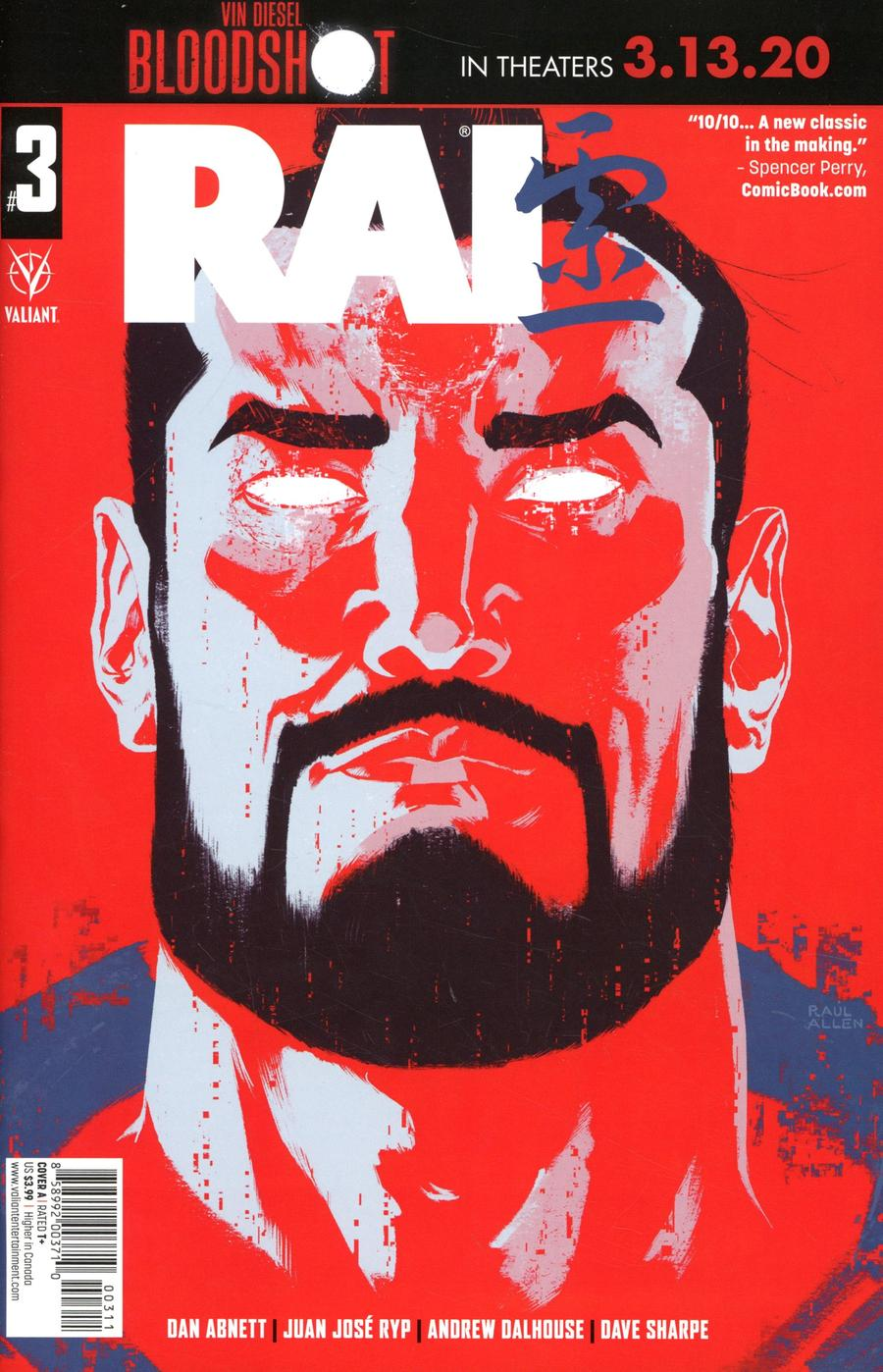 Rai Vol 3 #3 Cover A Regular Raul Allen Cover