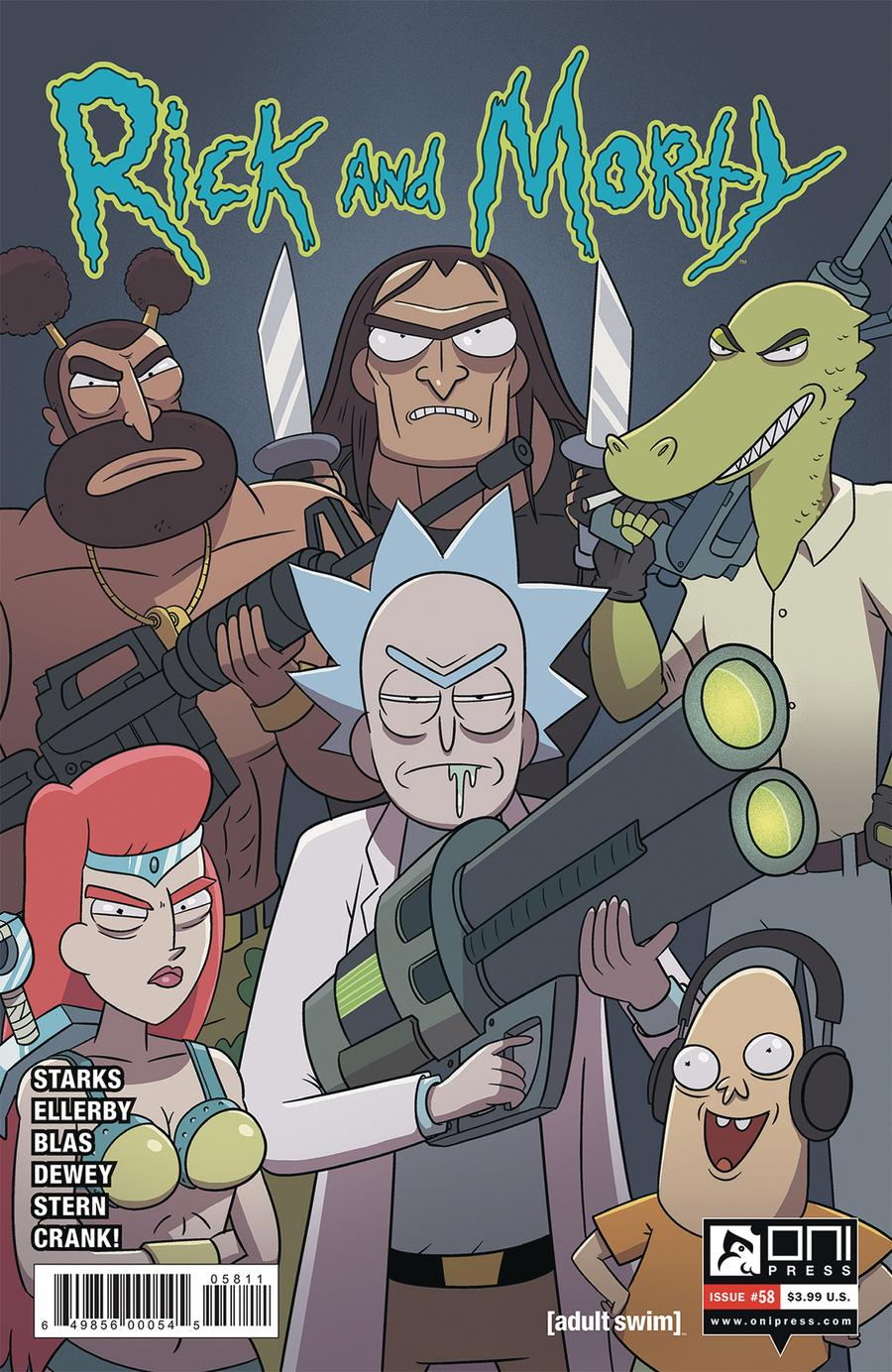 Rick And Morty #58 Cover A Regular Marc Ellerby & Sarah Stern Cover