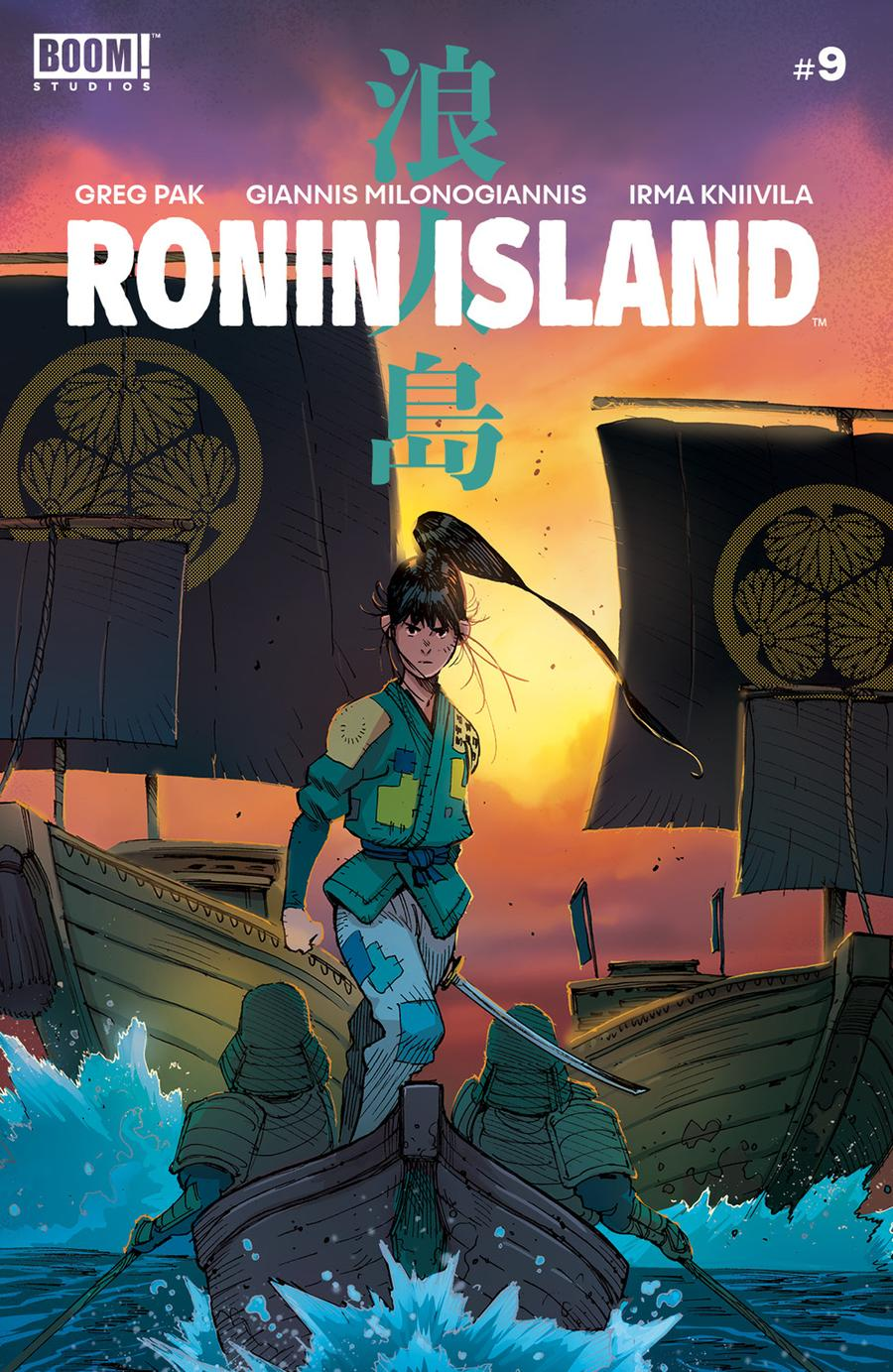 Ronin Island #9 Cover A Regular Giannis Milonogiannis Cover