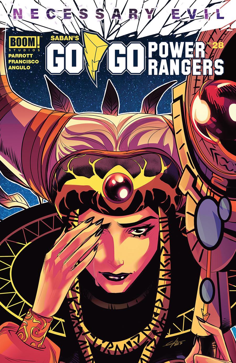 Sabans Go Go Power Rangers #28 Cover A Regular Eleonora Carlini Cover