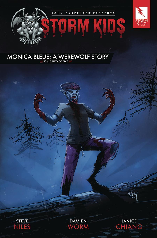John Carpenter Presents Storm Kids Monica Bleue A Werewolf Story #2