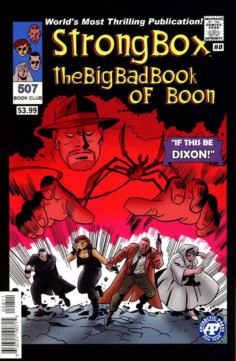 Strong Box Big Bad Book Of Boon #8