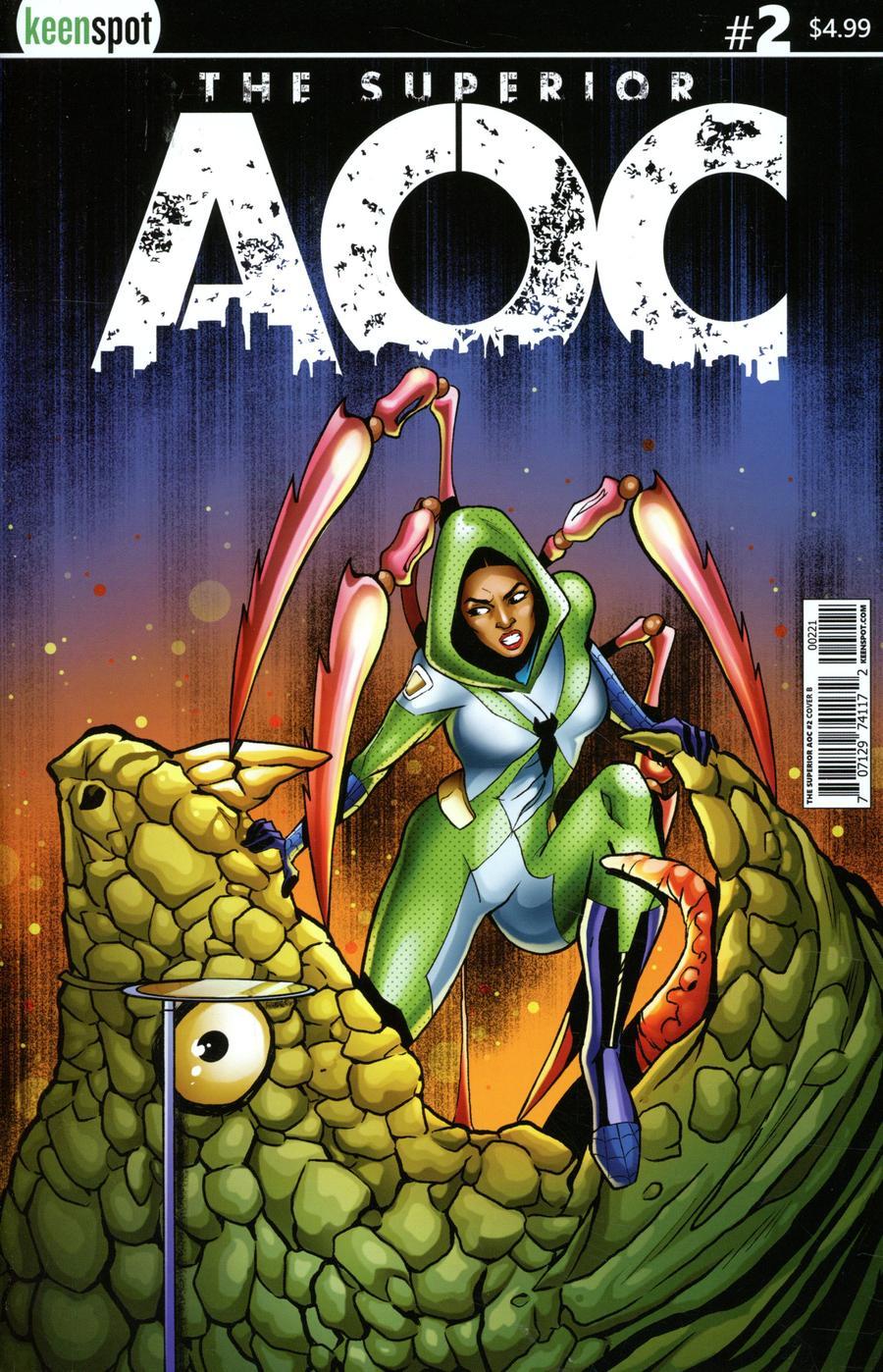 Superior AOC #2 Cover B Variant Pasquale Qualano Cover