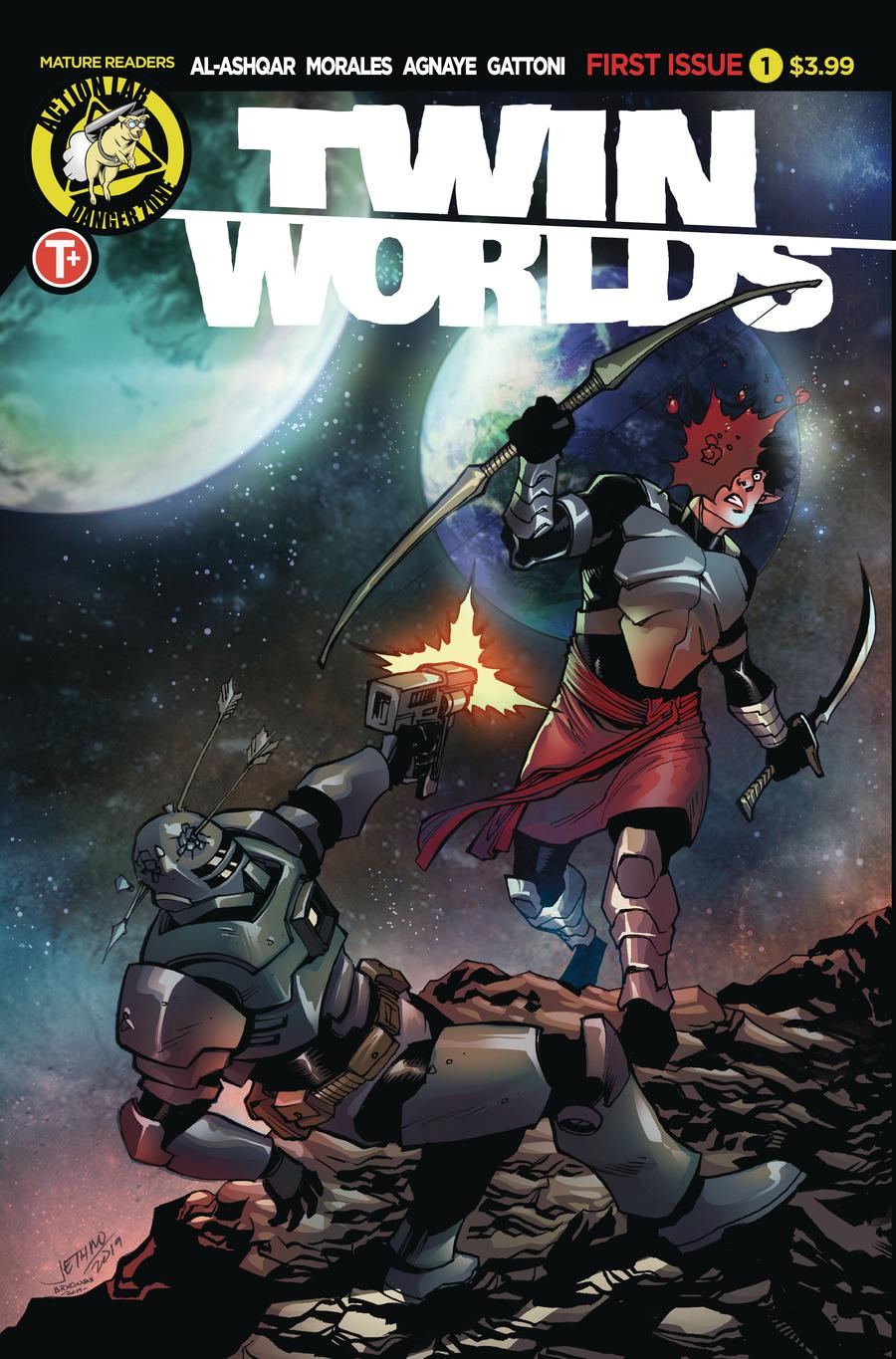Twin Worlds #1 Cover B Variant Jethro Morales Cover