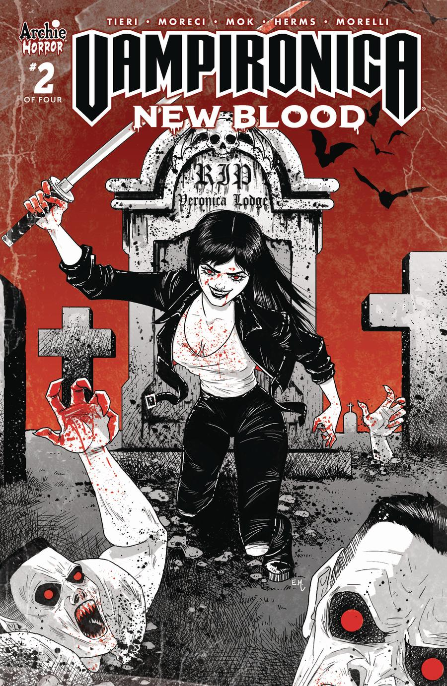 Vampironica New Blood #2 Cover B Variant Megan Hutchinson Cover