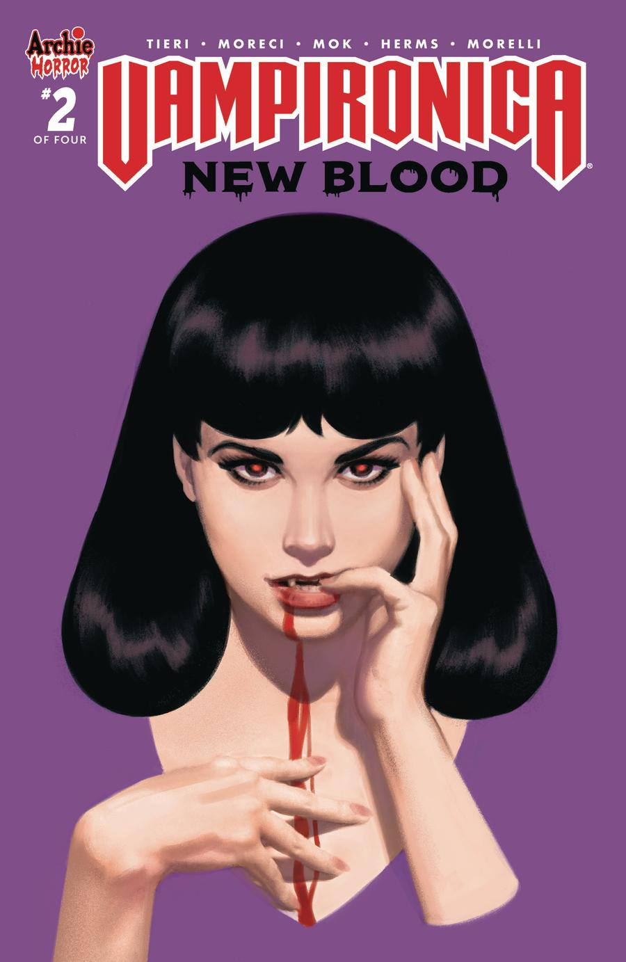 Vampironica New Blood #2 Cover C Variant Greg Smallwood Cover