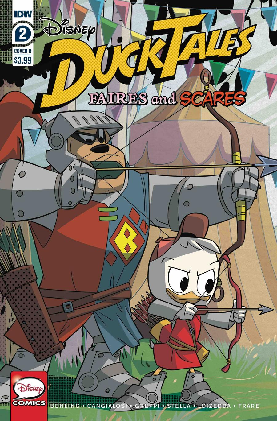 Ducktales Faires And Scares #2 Cover B Variant Cover