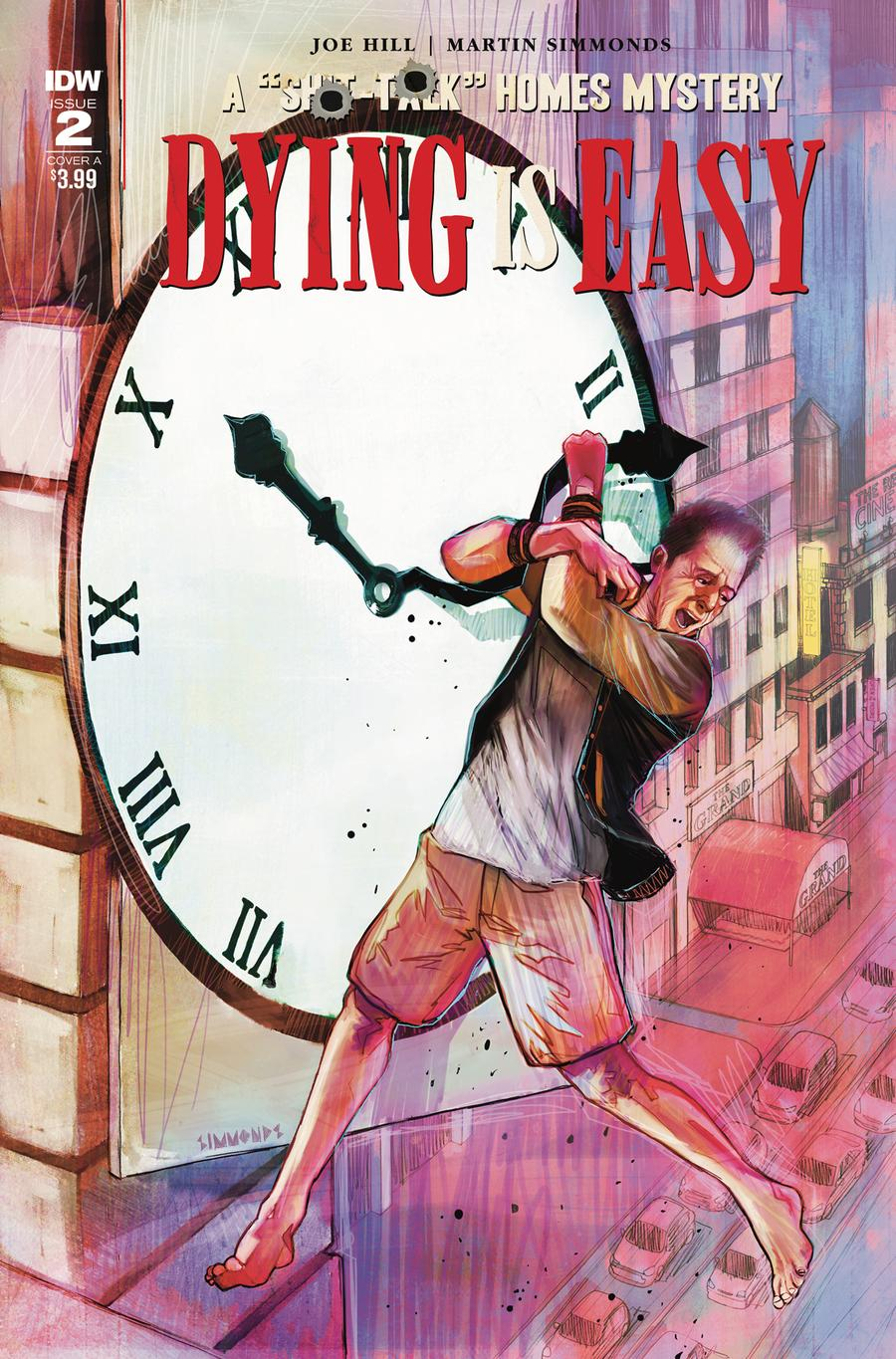 Dying Is Easy #2 Cover A Regular Martin Simmonds Cover