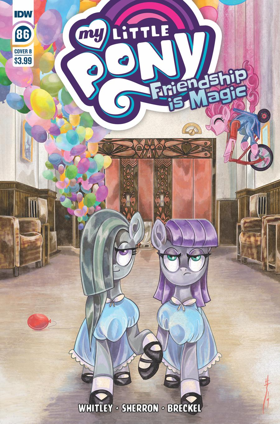 My Little Pony Friendship Is Magic #86 Cover B Variant Sara Richard Cover