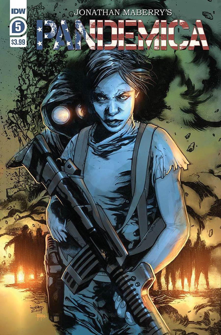 Pandemica #5 Cover A Regular Alex Sanchez Cover