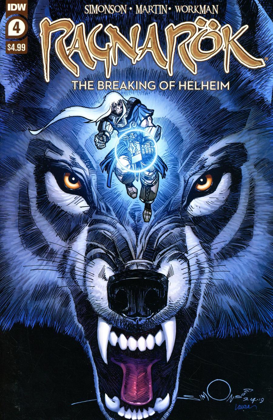 Ragnarok Breaking Of Helheim #4 Cover A Regular Walter Simonson Cover