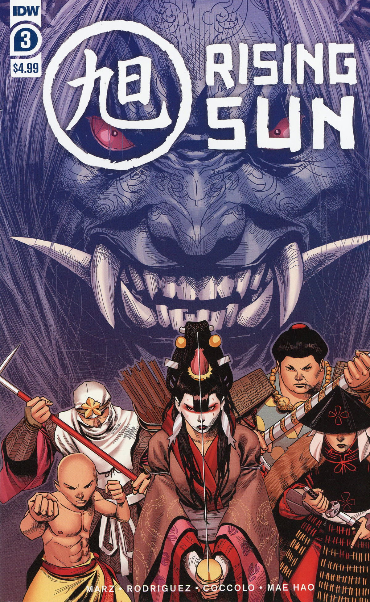 Rising Sun #3 Cover A Regular Martin Coccolo Cover