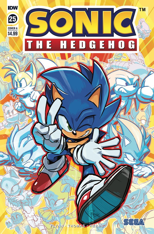 Sonic The Hedgehog Vol 3 #25 Cover A Regular Tyson Hesse Cover