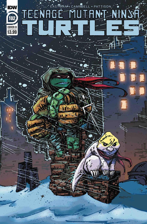 Teenage Mutant Ninja Turtles Vol 5 #102 Cover B Variant Kevin Eastman Cover