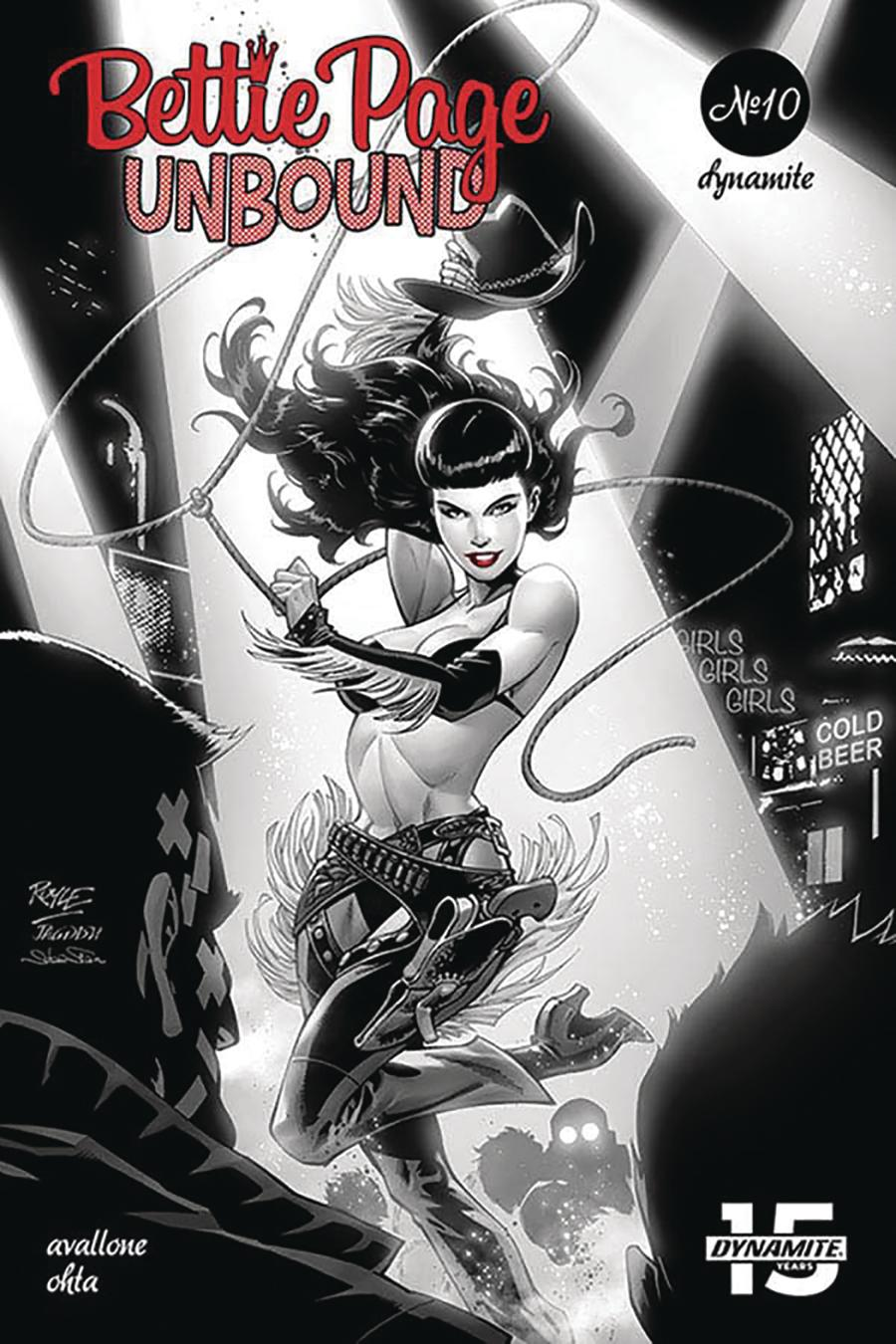 Bettie Page Unbound #10 Cover A Regular John Royle Cover