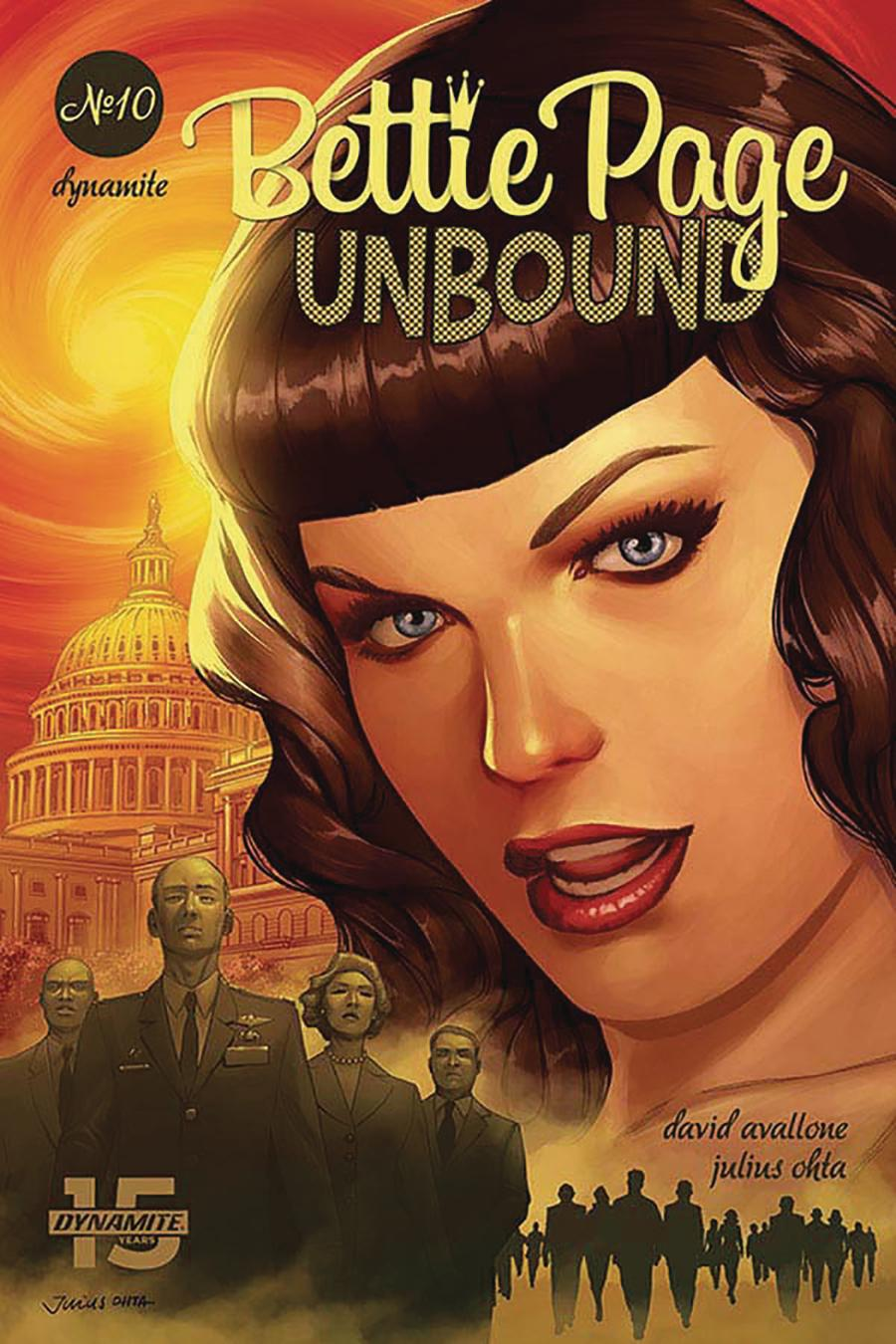 Bettie Page Unbound #10 Cover D Variant Julius Ohta Cover
