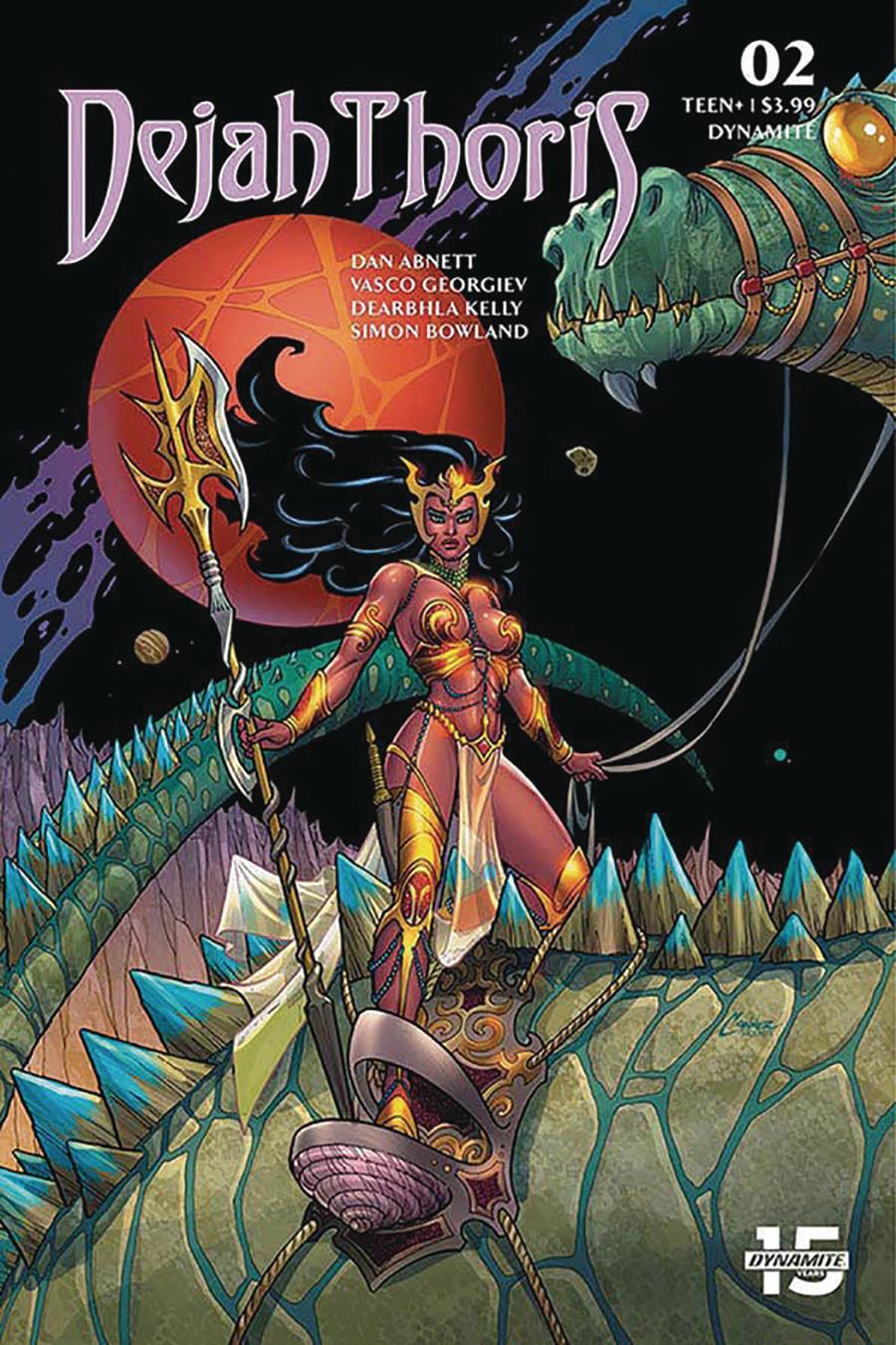 Dejah Thoris Vol 3 #2 Cover B Variant Amanda Conner Cover