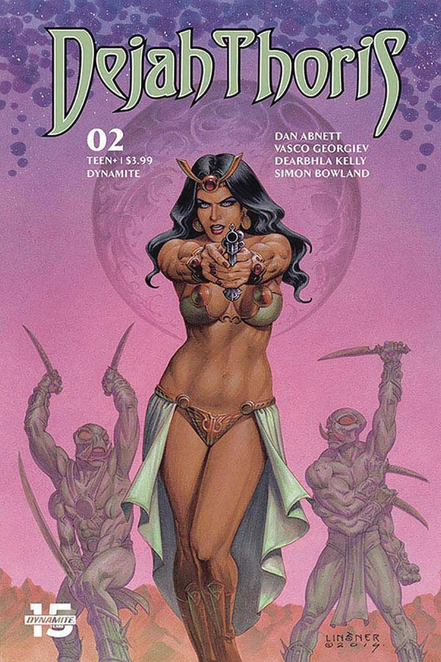 Dejah Thoris Vol 3 #2 Cover C Variant Joseph Michael Linsner Cover