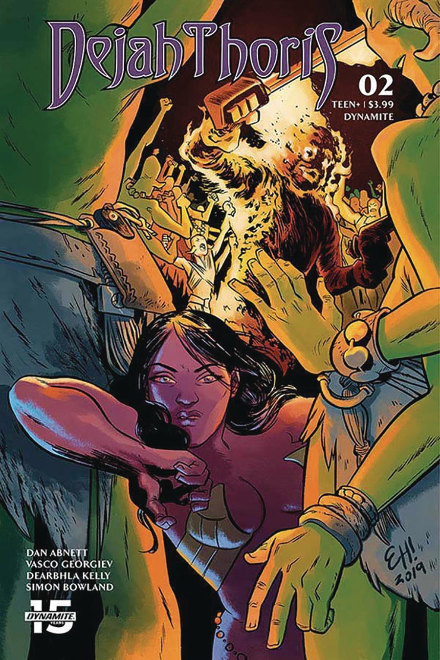 Dejah Thoris Vol 3 #2 Cover D Variant Erica Henderson Cover