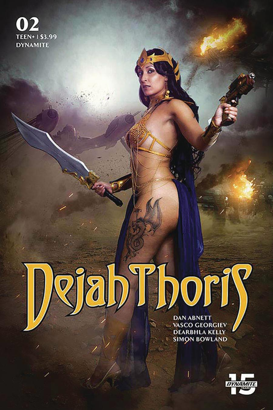 Dejah Thoris Vol 3 #2 Cover E Variant Tasha Cosplay UK Cosplay Photo Cover