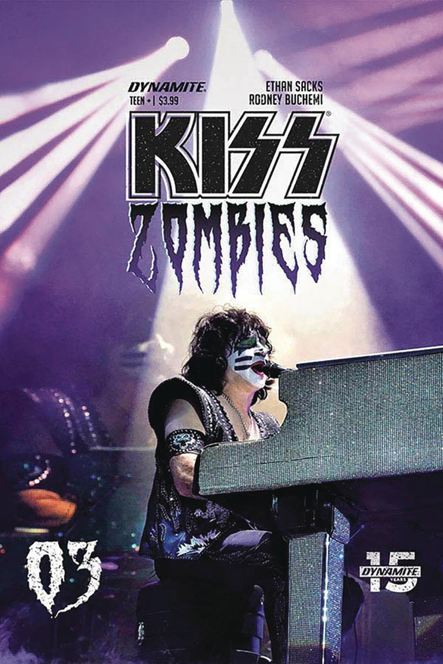 KISS Zombies #3 Cover D Variant Photo Cover